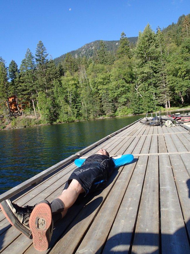 Tyaughton Lake lounging