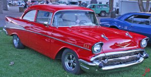 candy apple chevy flat