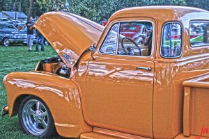 Ford Pick up HDR flat