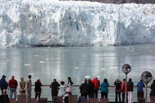 Marjerie Glacier, Glacier Bay National Park. Photo by Richard Varr