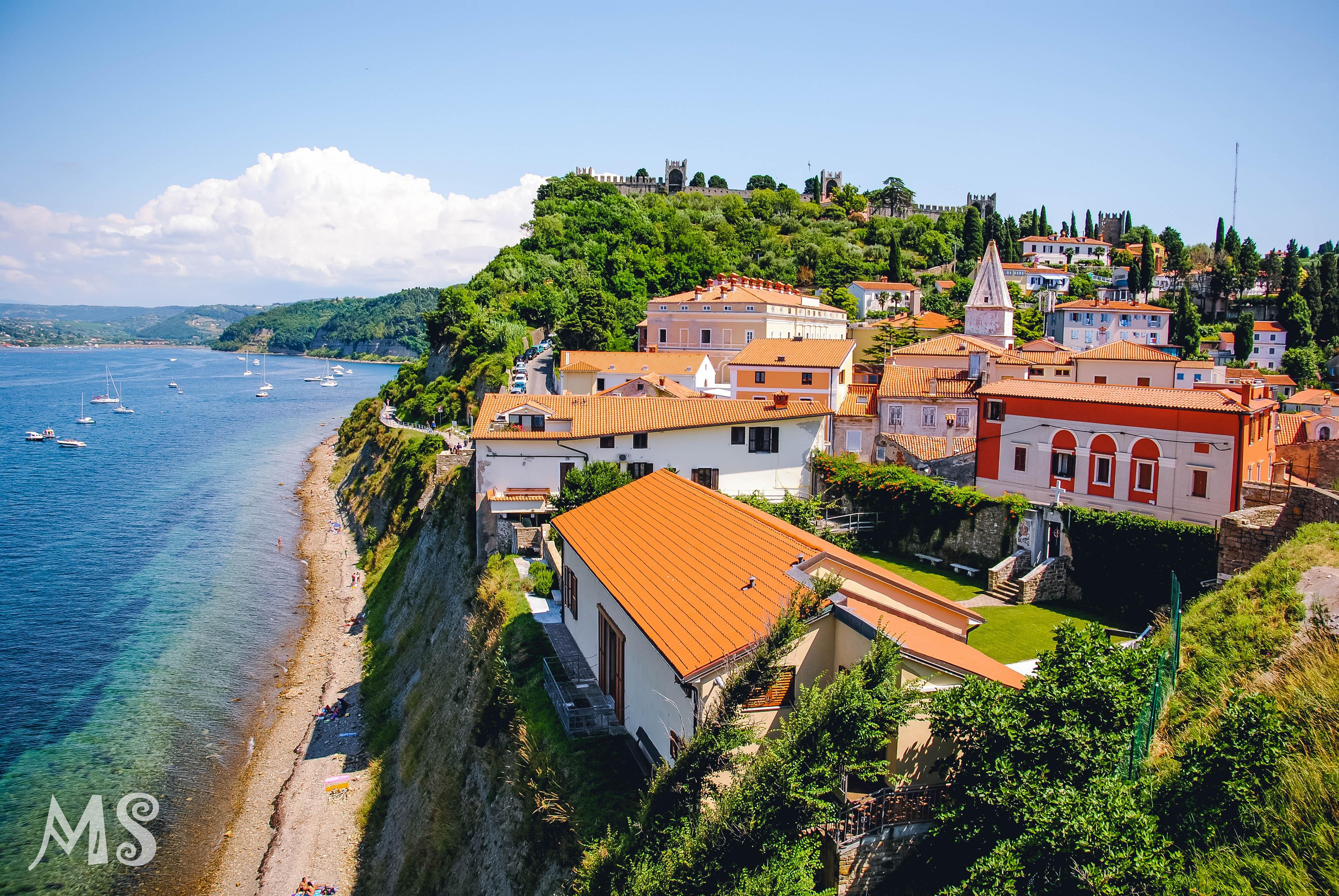 Beauty of Slovenian coast