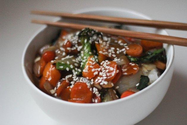Vegan Teriyaki Sauce and Stir Fry