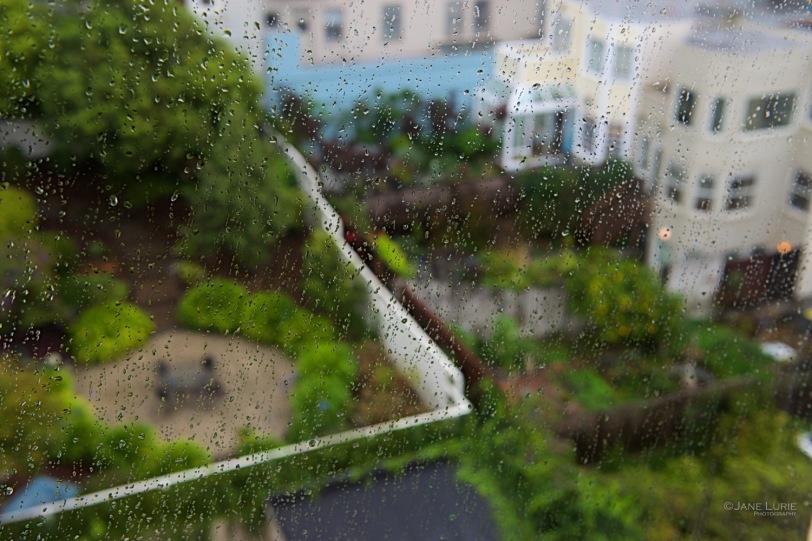 Nikon, Abstract, San Francisco, City, Rain