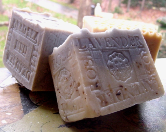 Holidays gift soaps