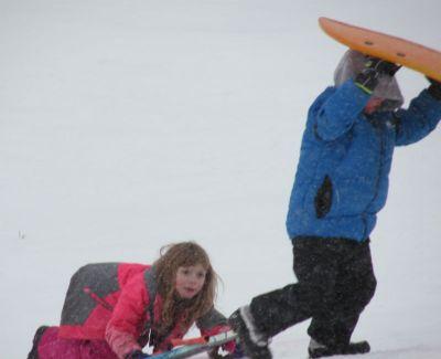 ambrosia sledding