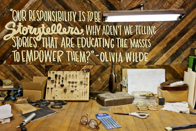Olivia Wilde Quote / Crafted in Carhartt