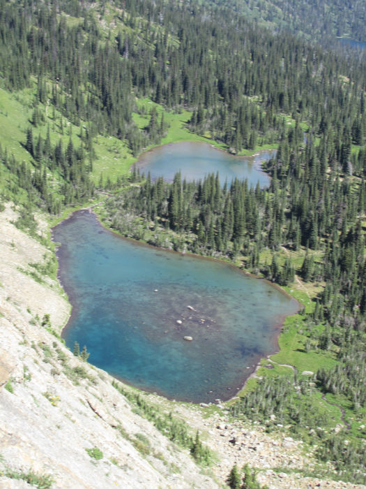 emerald green lakes