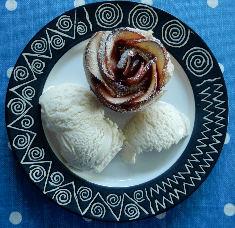 Baked Apple Rose