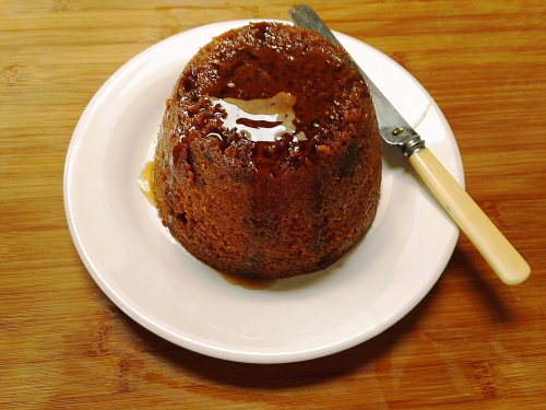 Date and maple syrup steamed pudding — Bread, Cakes And Ale